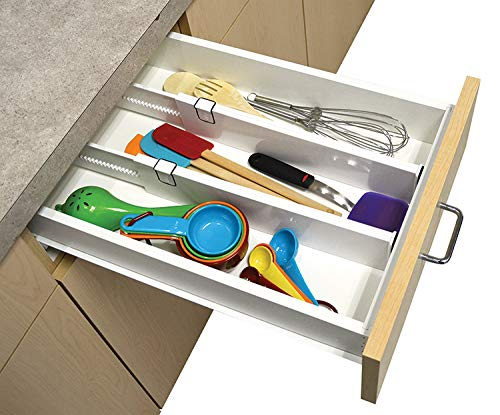 Bathroom Bin Rectangle Plastic Push-Button Dual Compartment Zeaih Trash Can Kitchen Bin 12L Capacity for Kitchen Bathroom