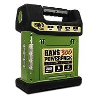 HANS 300 - Lithium Portable Solar Generator, 12 Year Warranty, Integrated 4.5W Solar Panel, 288Wh (20,000 mAh) Li-Ion Battery