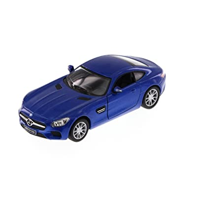 Kinsmart Mercedes-Benz AMG GT, Blue 5388D - 1/36 Scale Diecast Model Toy Car: Toys & Games