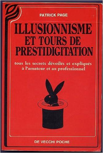 Illusionnisme et tours de prestidigitation pdf ebook