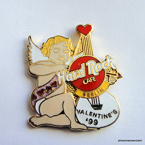 1999 Valentines Day Pin Hard Rock Cafe Berlin at ()
