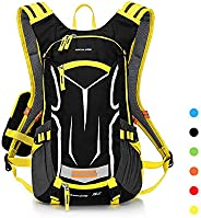 LOCALLION Cycling Backpack Biking Daypack Bike Cycling Rucksack for Outdoor Sports Running Hydration Pack Men