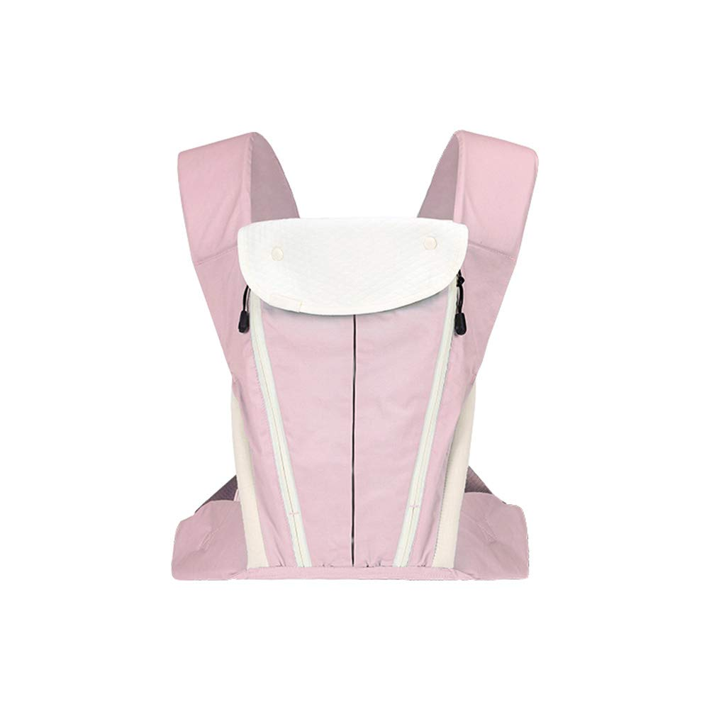 color : Pink 20 kg, 0-36 meses azul rosa Four Seasons multifuncional TLTLYEBD Portabeb/és de algod/ón ergon/ómico Gorra contra el viento Portabeb/és delantero y trasero