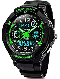 Kids Sports Digital Watch - Boys Analog Waterproof Sport...