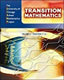 img - for UCSMP Transition Mathematics: Student Edition, Volume 2 / Chapters 7-12 by Steven S. Viktora (2008-06-30) book / textbook / text book