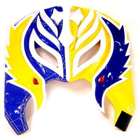 WWE Wrestling Rey Mysterio Replica Mask [Youth, Blue & Yellow] by Youth Replica Masks