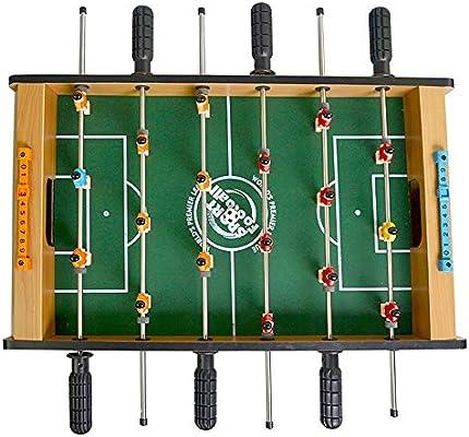 Juego de Mesa, Mesa De Futbolín Pesada For Bar Sala De Juegos Mesa De Futbolín Juego - Características Varillas Del Jugador para vacaciones de cumpleaños (Color : Verde , tamaño :