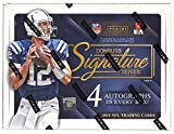 football cards rare - 2015 Donruss Signature Series Football Hobby Box (1 Pack of 4 Autographs) (Release Date 12/16/15)
