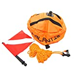 Scuba Choice Palantic Scuba Diving Spearfishing Nylon Ball Shape Float with Dive Flag
