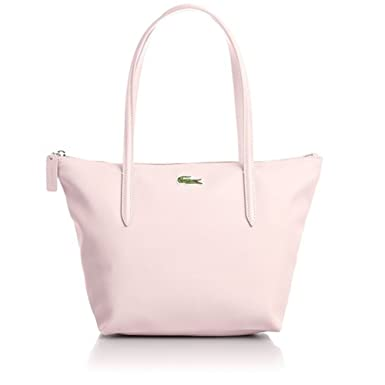 Amazon.com: Lacoste Medium Small Shopping Bag Pale Lilac: Clothing