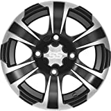 ITP SS312 Alloy Wheel Black 12x7 4+3 for Polaris Sportsman