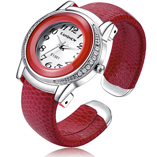 Fashion Womens Bracelet Watches Leather