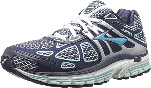 BROOKS rooks Womens Ariel 14 Breeze/Midnight/Silver Shoe ...