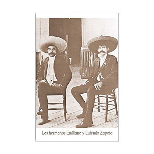 Mexican Revolution Poster (CafePress - Emiliano Zapata &Brother Mexican Revolution Poster - Mini Poster Print)