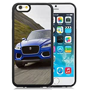 New Personalized Custom Designed For iPhone 6 4.7 Inch TPU Phone Case For 2013 Jaguar C X17 Blue Phone Case Cover