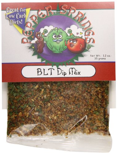 Mix Dip Pepper (Pepper Springs BLT Dip Mix, 1.2 Ounce)