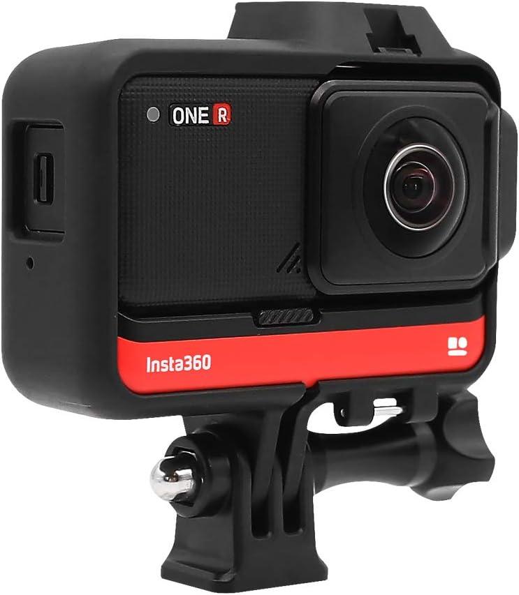 Carcasa protectora cámara Insta360 ONE R c/zapata adaptador