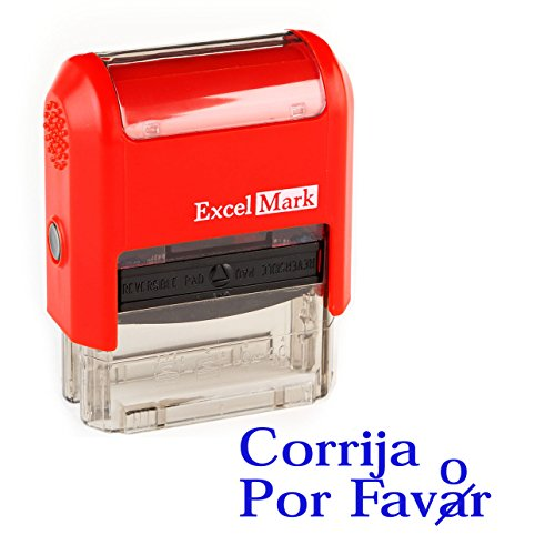 Spanish Teacher Stamp - CORRIJA POR FAVOR