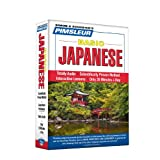 Pimsleur Japanese Basic Course - Level 1 Lessons 1-10 CD: Learn to Speak and Understand Japanese with Pimsleur Language Programs