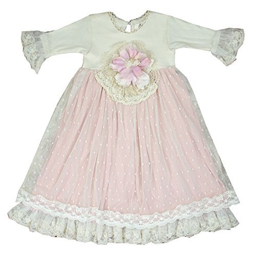 Frilly Frocks Baby Girls Heirloom Take Home Gown Pink]()