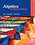 Algebra for College Students (8th Edition)