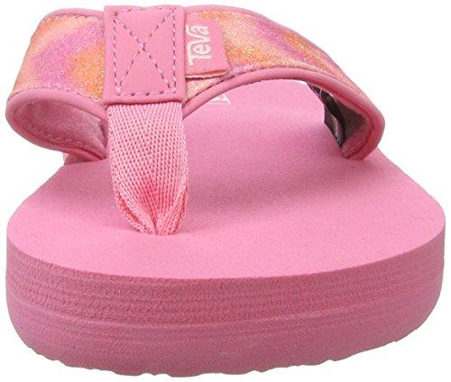 Teva Mädchen Mush Ii Cs Sandalen Pink (Pink Multi Sparkle)