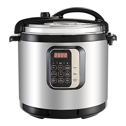 KUPPET 7-IN-1 Multipot-10 QT Programmable Pressure Cooker-Pressure Cooker, Rice Cooker, Slow Cooker,...