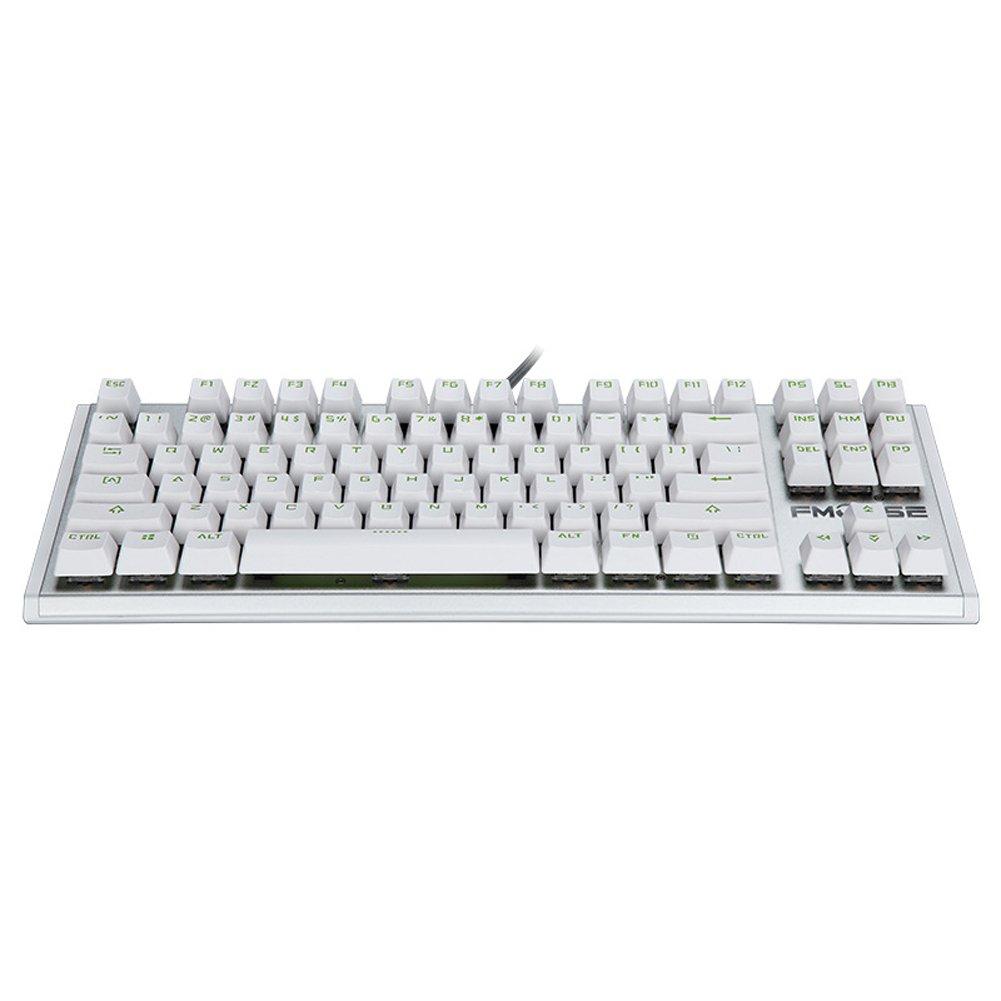 SHIZHESHOP B07KSQQ81C 87キーブルースイッチRGBバックライト付きキーボード、メカニカルゲーミングキーボード(カラー:ホワイト) B07KSQQ81C, 家電ショップV-sonic:945d8eae --- itxassou.fr