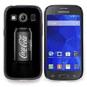 Stuss Case / Funda Carcasa protectora - Bebidas Cultura Soft Negro Blanco Pop - Samsung Galaxy Ace Style LTE/ G357