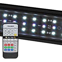 "VivaGrow DN RGB LED Aquarium Light Freshwater Plant 24/7 Remote Automation (90cm - 36"")"