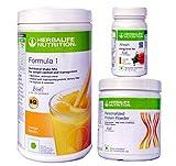 herbalife weight loss program package- mango 500 g, protein 200 g, afresh drink 50 g (Tulsi)