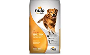 Nulo Adult Trim Grain Free Healthy Weight Dry Dog Food With Bc30 Probiotic (Cod And Lentils Recipe, 24Lb Bag)