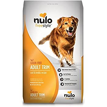 Amazon nulo grain free dog food all natural adult dry pet food nulo grain free healthy weight dry dog food with bc30 probiotic cod and lentils recipe 24lb bag forumfinder Choice Image