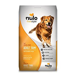 Nulo Adult Trim Grain Free Healthy Weight Dry Dog Food With Bc30 Probiotic (Cod And Lentils Recipe, 24Lb Bag) 73