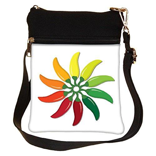 Para Snoogg Multicolor Mujer Cruzados Bolso ErwnqrPTx