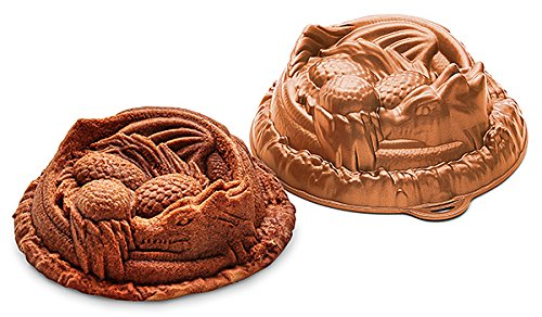 ThinkGeek Cooper Dragon Cake Pan by ThinkGeek