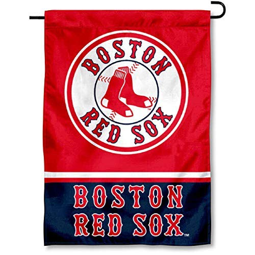 WinCraft Boston Red Sox Double Sided Garden Flag (Renewed) ()