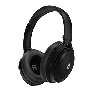Noise Cancelling Bluetooth Headphones, TaoTronics Active Noise Cancelling  Wireless Over ear Headphones with High Clarity Sound Powerful Bass, 30 Hour