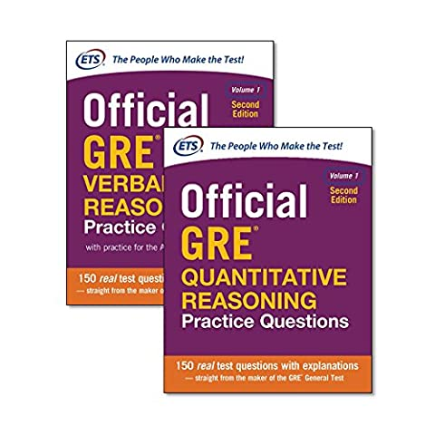 Official GRE Value Combo (Test Prep) (Gre Quantitative Practice)
