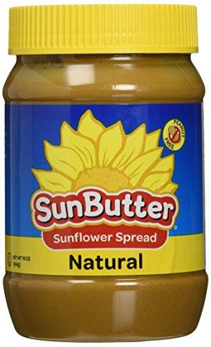 Sunbutter B41295 Sunbutter Natural Sunflower Seed Spread - 16oz