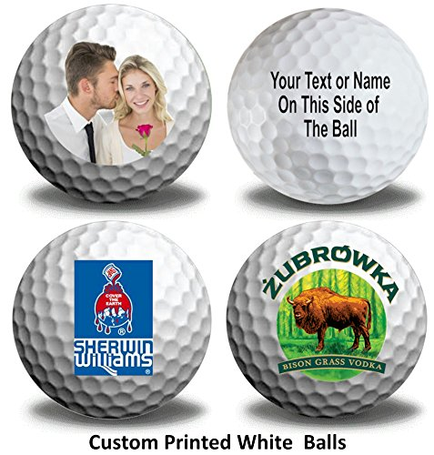 3 Ball pack Titleist Pro V1 Custom LOGO Refinished Mint Golf Balls Upload Your Own Text Or Image by Titleist (Image #5)