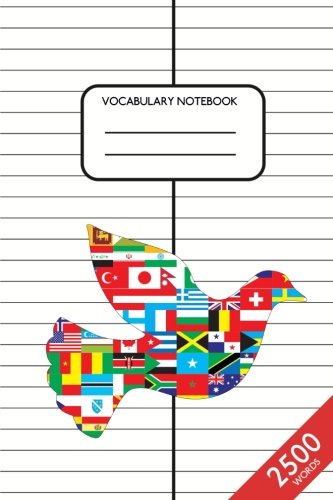 """Download Vocabulary Notebook: 6"""" x 9""""  2500 Words  100 pages  ruled  2 columns ebook"""
