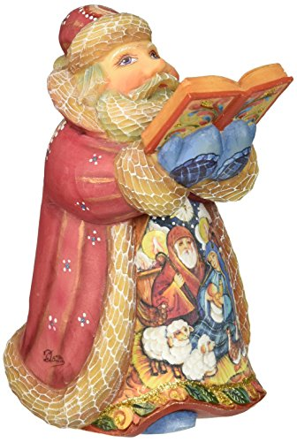 G. Debrekht Nativity Santa (Debrekht Santa)