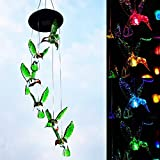 Lighting Night Gadget Novelty Wind Chimes Colorful Light LED Hanging Style 8 Hours Operate Solar Powered use for Home, Farm, Garden, Party, Apartment, Terrace Decoration etc.