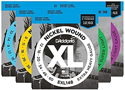 D'Addario Nickel Wound Electric Guitar Strings,