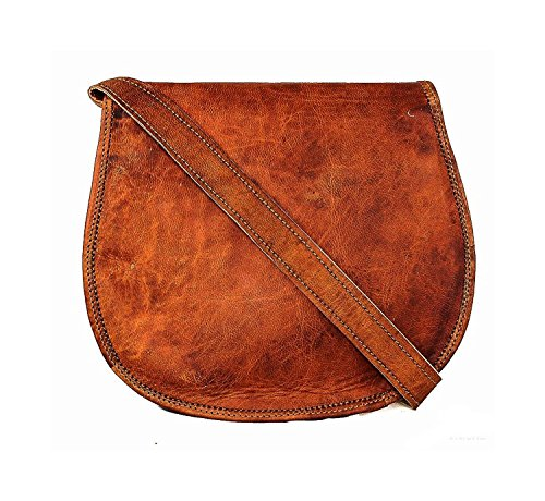 Purse Bag Brown Women Genuine Purse by Shoulder Handmade Artishus Leather Cross Body Sling w71zcqxTO