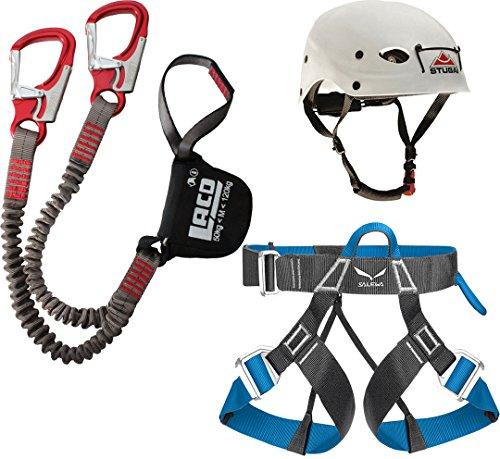 Klettersteigset LACD + Gurt Ferrata Light + Helm Stubai Fuse Light