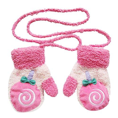 MIOIM Toddlers Fleece Cartoon Mittens