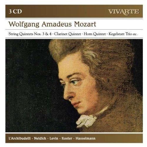 Mozart: String Quintets Nos. 3 & 4, Clarinet Quintet, Horn Quintet, Kegelstatt Trio (2012) Audio CD