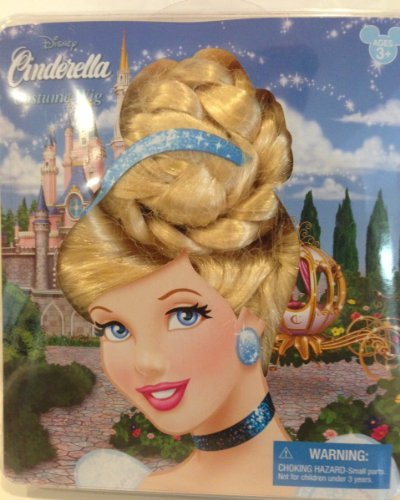 Disneyland Merida Costumes - Disney Park Cinderella Dress Up Wig